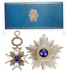 Орден Три звезде Р. Летоније, установљен 1925. године.